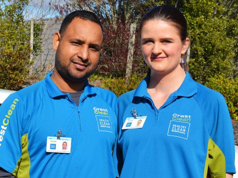 Happy Singh and Anne McKibben-Singh.