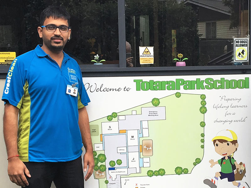 Mihir Desai loves being a CrestClean franchisee.
