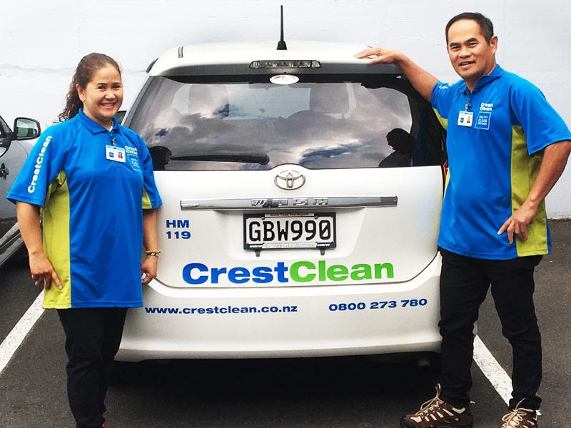 Niza and Fredie Dela Cruz enjoy being small business owners.