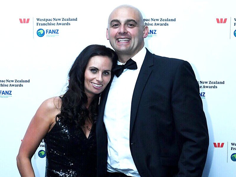 Nicky and Tony Kramers are Master Franchisees for CrestClean in Dunedin.
