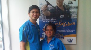 New Tauranga franchisees Mukesh Kumar and Sheron Devin