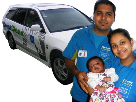 Jetesh Kumar and his wife Sheleen Prasad welcomed their new baby girl, Ashiya