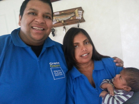 Sunjay Bala and his wife Urvashi welcome their new son, Sunesh.
