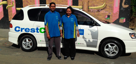Wellington Franchisees Dharam Singh and Lalita Devi have built a $100,000 business up in just eight months with CrestClean.