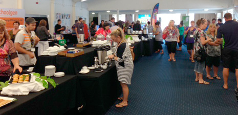 Attendees at the 2014 Engaging Maori Learners Conference sponsored by CrestClean