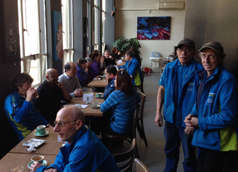Dunedin franchisees gathered for a morning tea and to wish John a speedy recovery.