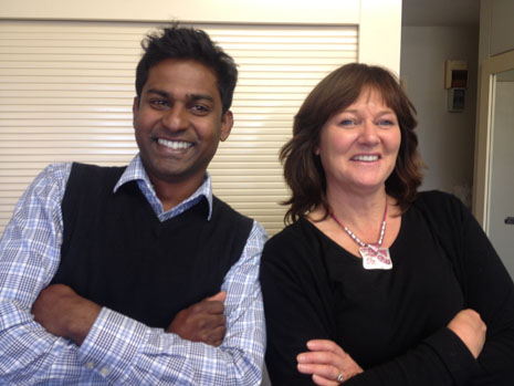 Kiri James and Yasa Panagoda go way back -- now they're both Regional Directors for CrestClean.