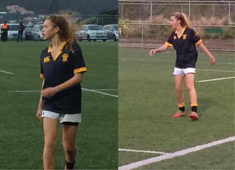 Kiani Tahere receives CrestClean sponsorship, which has helped her become the youngest woman ever picked for the Wellington team.