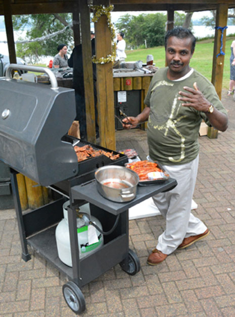 Fortunately, new franchisee Lalith Degambada, is a professional chef, too.