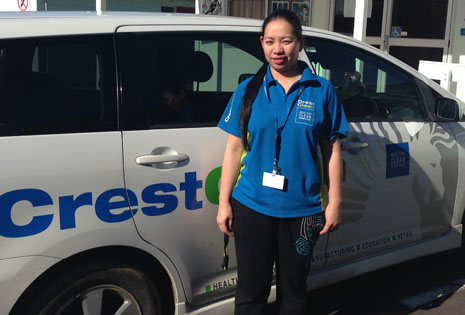 Christine Valerio is pleased to have reached the five year mark with CrestClean.