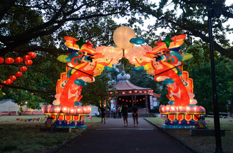 Auckland's annual Lantern Festival is a good time to join in the Chinese New Year festivities.
