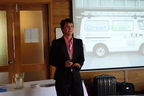 Linda Coles was the keynote speaker, sharing excellent ways business owners can optimise the use social media.