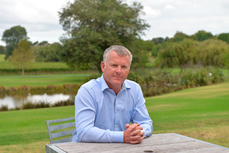 Crest Commercial Cleaning Managing Director Grant McLauchlan.