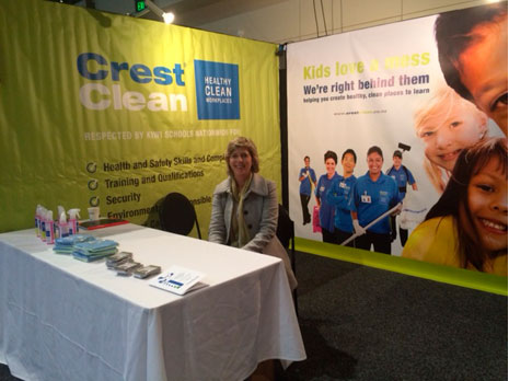 CrestClean Hutt Valley/Wairarapa Regional Manager Clare Menzies enjoyed the New Zealand Catholic Education Convention.
