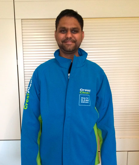 Christchurch South franchisee Hardik Patel says there are many benefits of being a CrestClean franchisee.