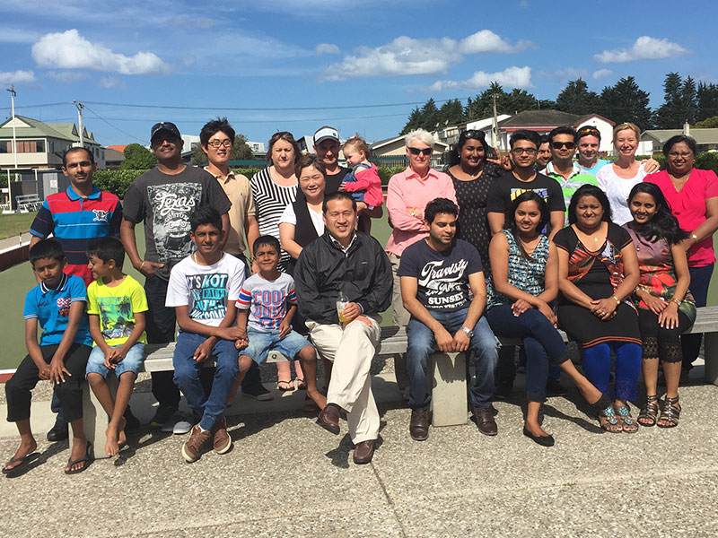 CrestClean Tauranga franchisees and their families enjoyed catching up with each other and playing bowls as part of Christmas celebrations.