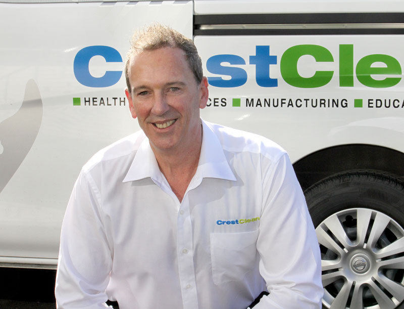 Vaughn Chiplin is CrestClean's latest Quality Assurance Co-ordinator.